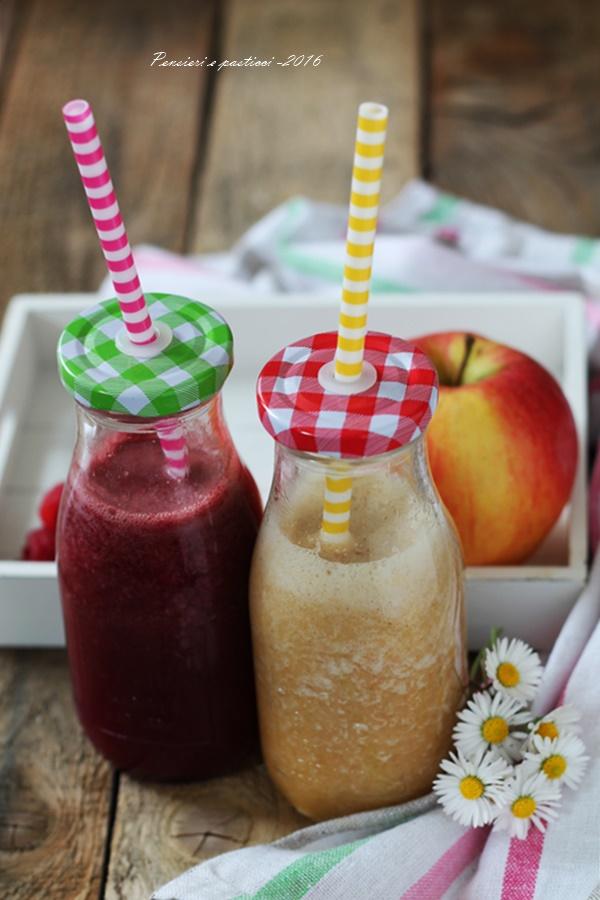 frullati detox alla frutta e tè