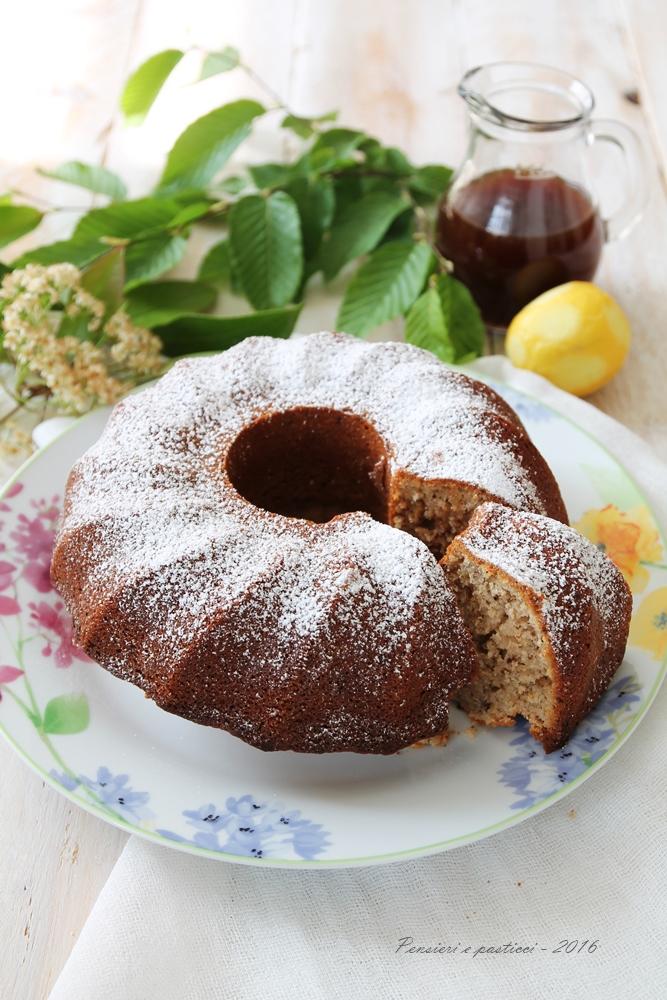 bundt cake allo sciroppo di sambuco 4