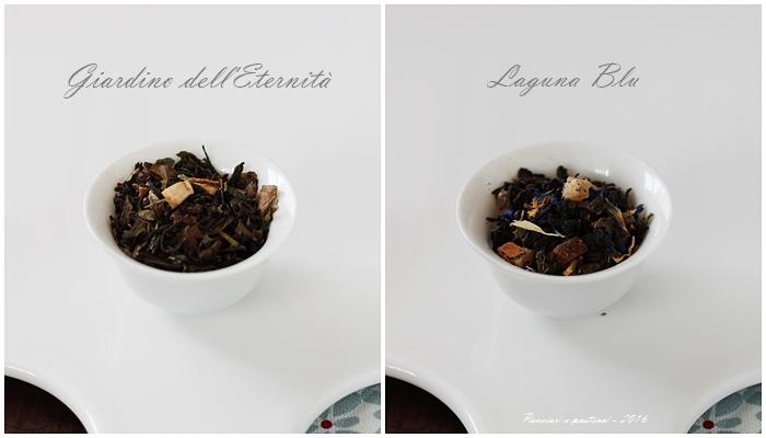 tè Giardino dell'eternità e Laguna blu