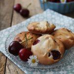 Biscotti alle ciliegie e ricotta