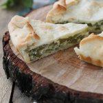 Torta salata con zucchine trombette di Albenga