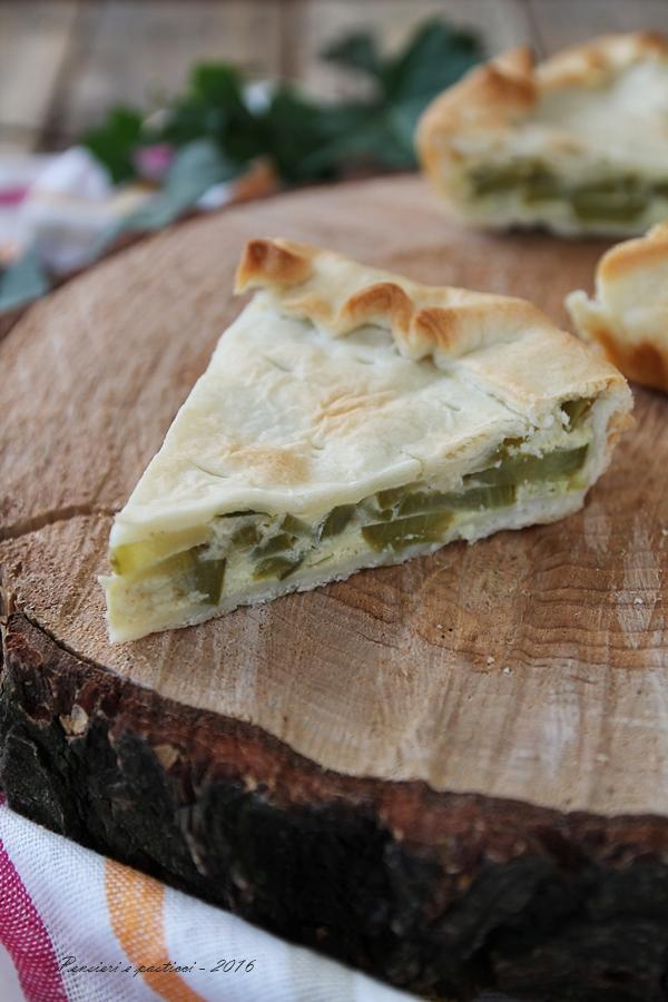 Torta salata con zucchine trombette di Albenga 5