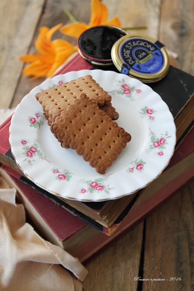 biscotti all'avena e spezie 1
