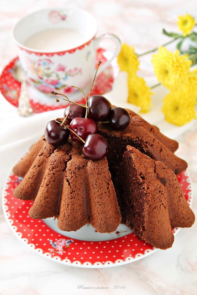 torta al cocco e cacao - vegan e gluten free 1