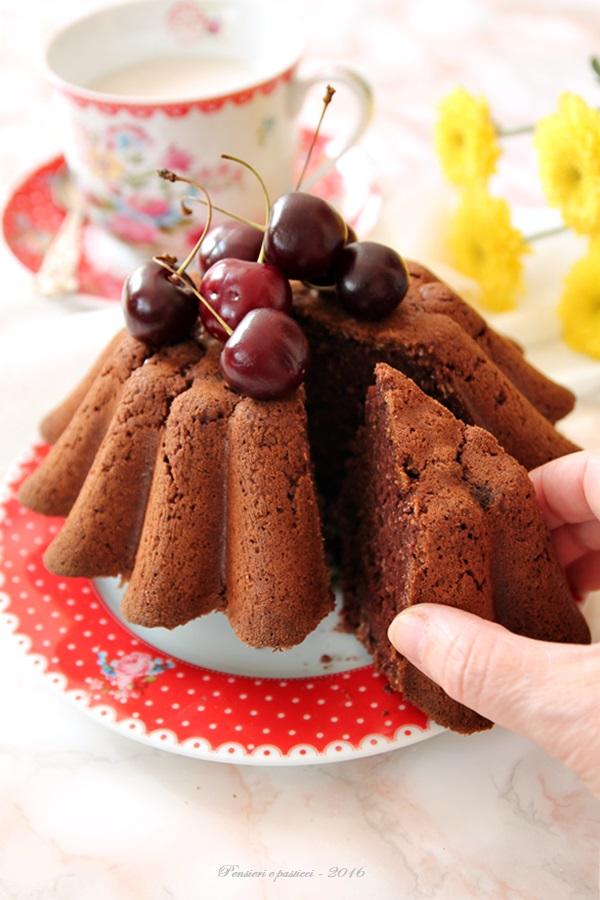 torta al cocco e cacao - vegan e gluten free 2