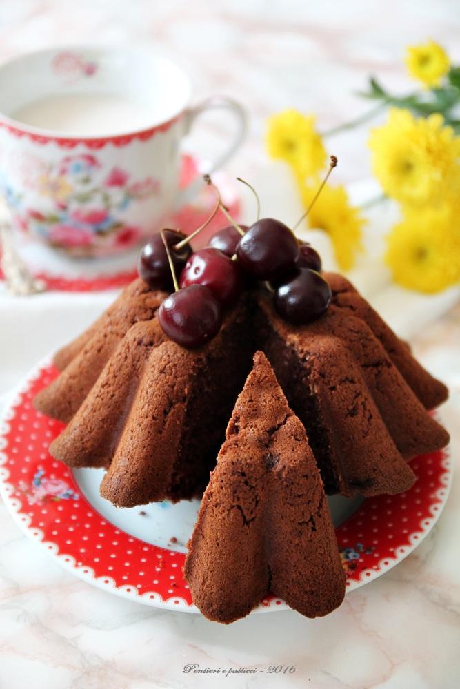 torta al cocco e cacao - vegan e gluten free 4