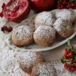 Biscotti alla farina di riso, cioccolato e melograno per Altromercato