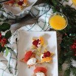 Stelle tostate dolci e salate per il Brunch di Natale