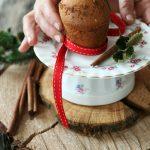 Muffins natalizi alla vaniglia e spezie, ricetta senza lattosio