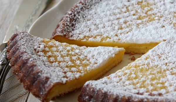 torta impossibile alla clementina e cocco