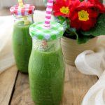 Frullato verde rigenerante