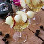 Cocktail Moscatè al tè Red Lychee e frutti bianchi