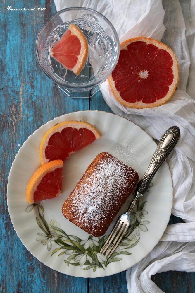 mini-cake al pompelmo rosa