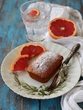 mini-cakes al pompelmo rosa