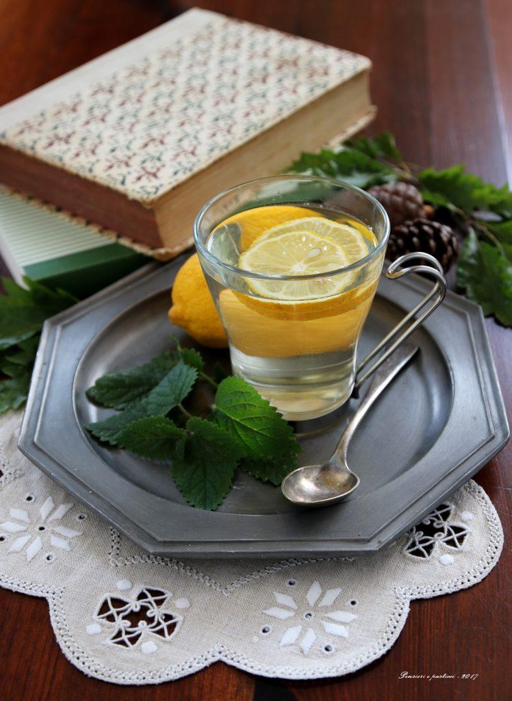 tisana alla melissa al limone