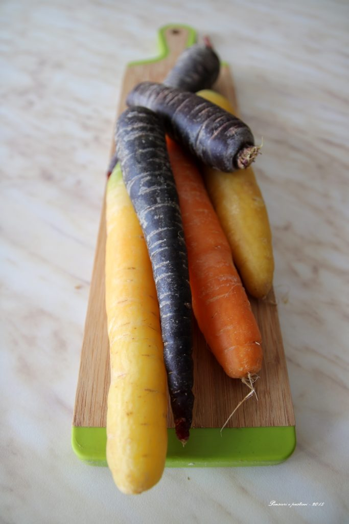 carote tre colori