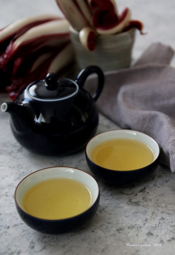 tè Kukicha tostato
