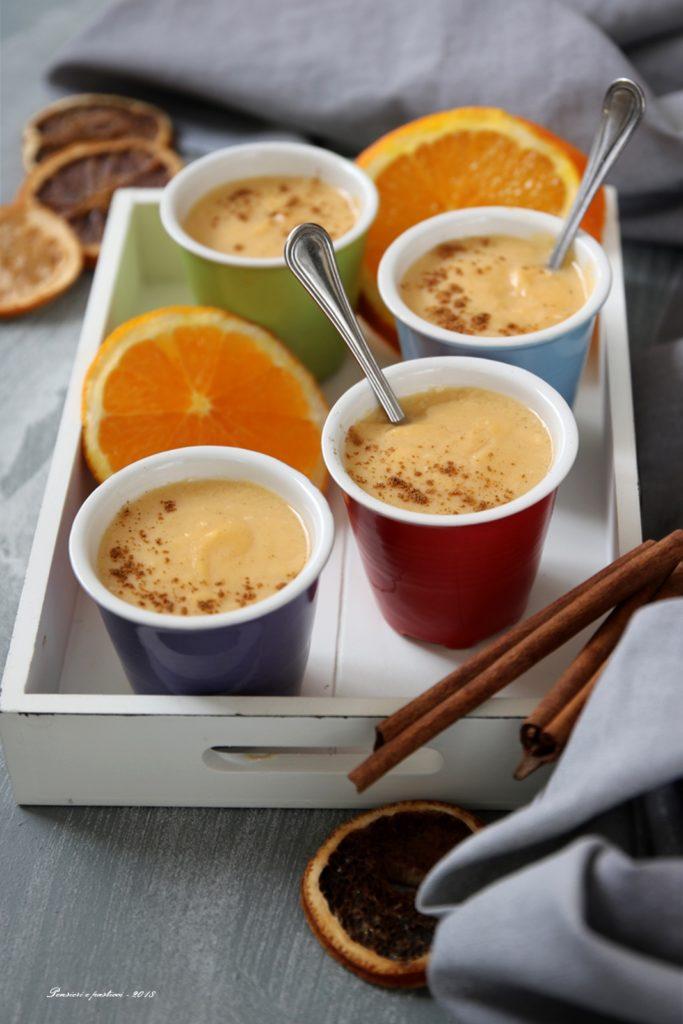 Crema dessert agli agrumi e cannella