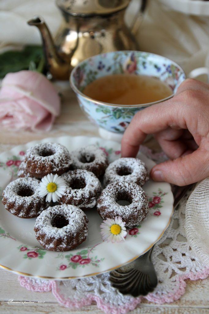 ciambelline al tè chai e cacao