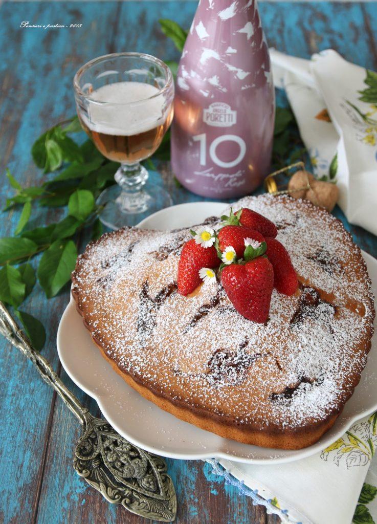 torta Nua alla birra e confettura di fragole