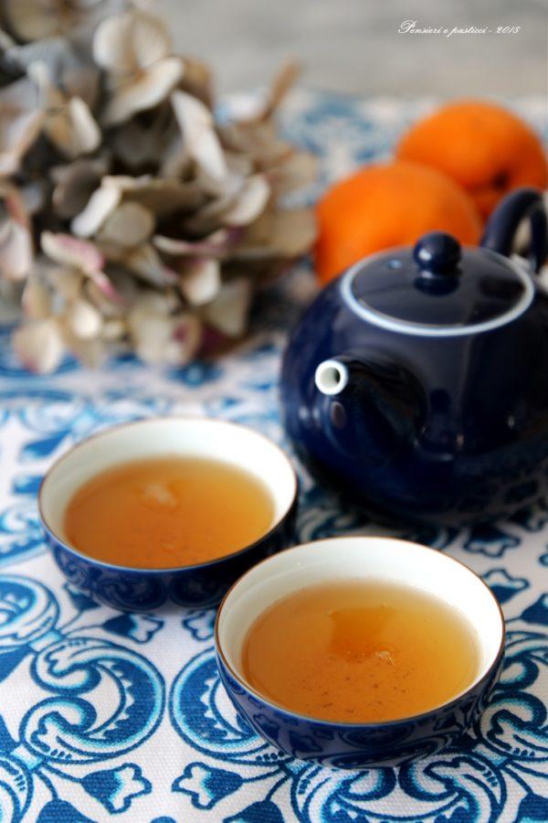 tè champagne e bon bon