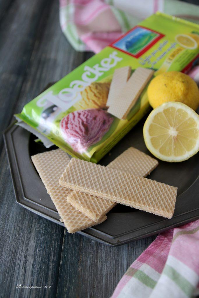 wafer al limone