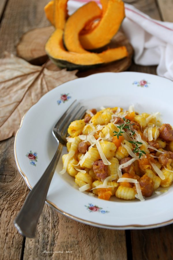 piatti di pasta d'autunno