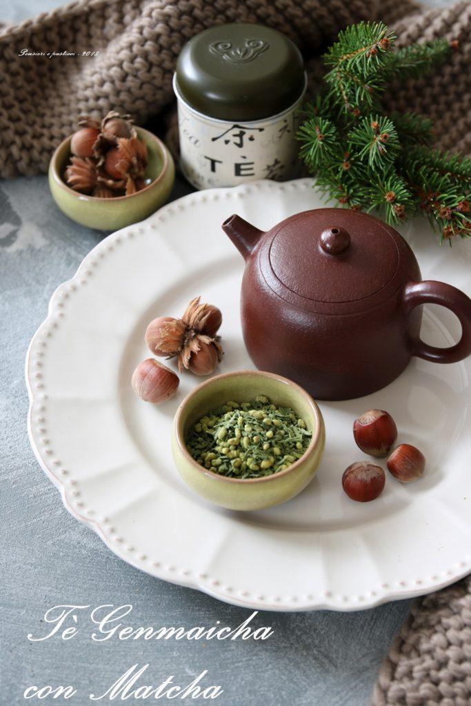 tagliatelle alla crema di tè e nocciole
