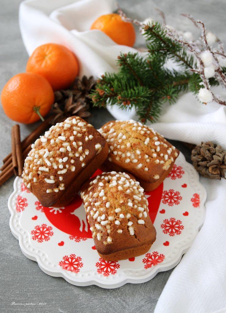 mini plumcake al mandarino e cannella