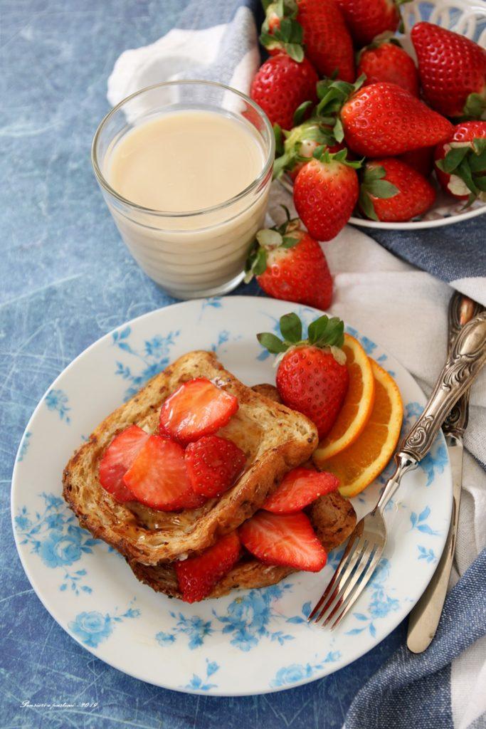 French Toast alla frutta fresca