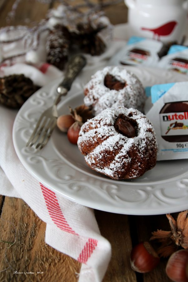 mini cakes alla nutella