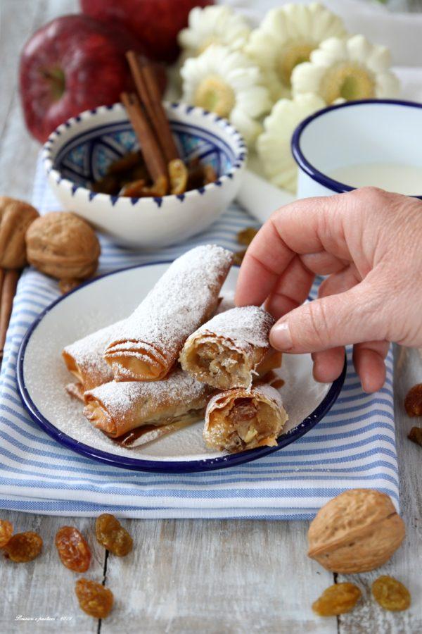 milopitakia dolce greco alle mele