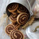 Biscotti integrali bicolori