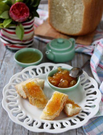 Pan brioche al miele con macchina del pane