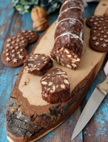 Salame al cioccolato con Pan di Stelle