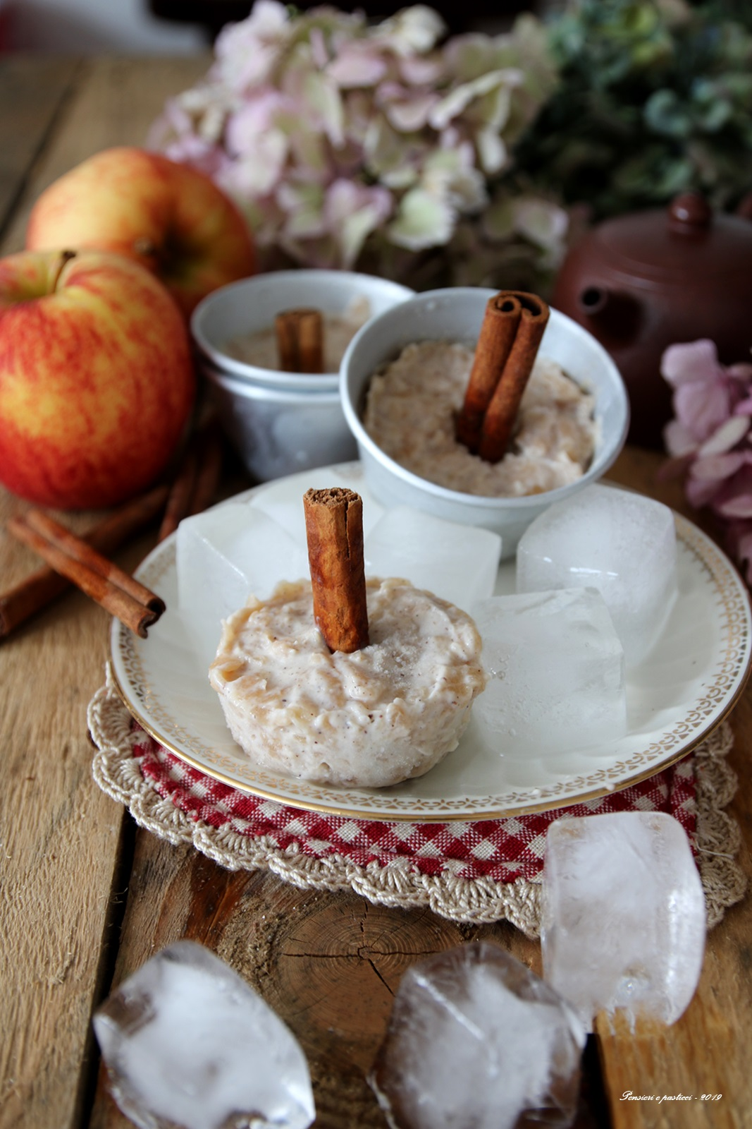 mini ice cream sticks apple pie