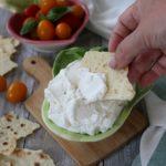 Labneh, formaggio cremoso magro fatto in casa