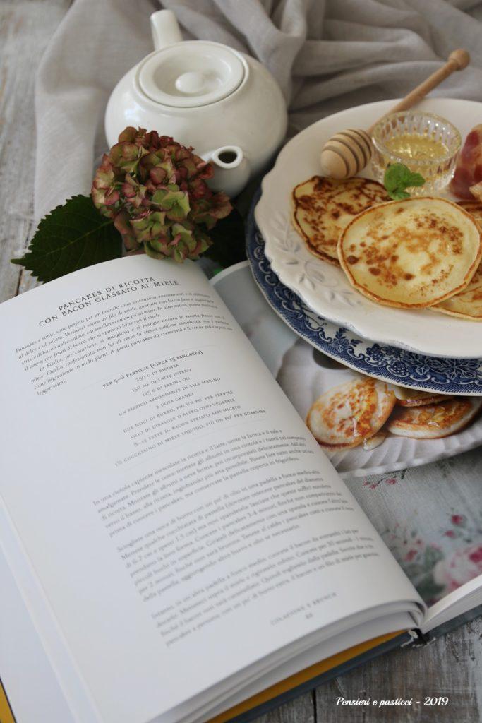 pancakes alla ricotta e miele