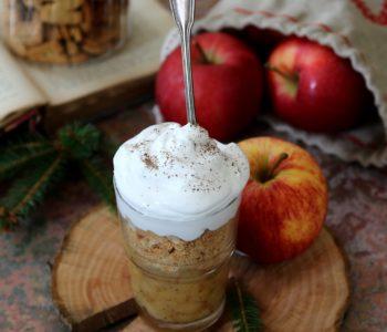 Dolce di mele danese Gammeldags æblekage