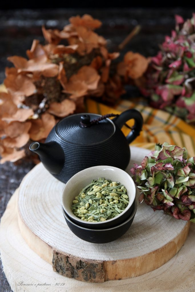 tè Genmaicha con Matcha