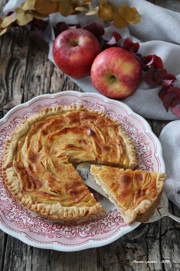crostata di mele della Turingia