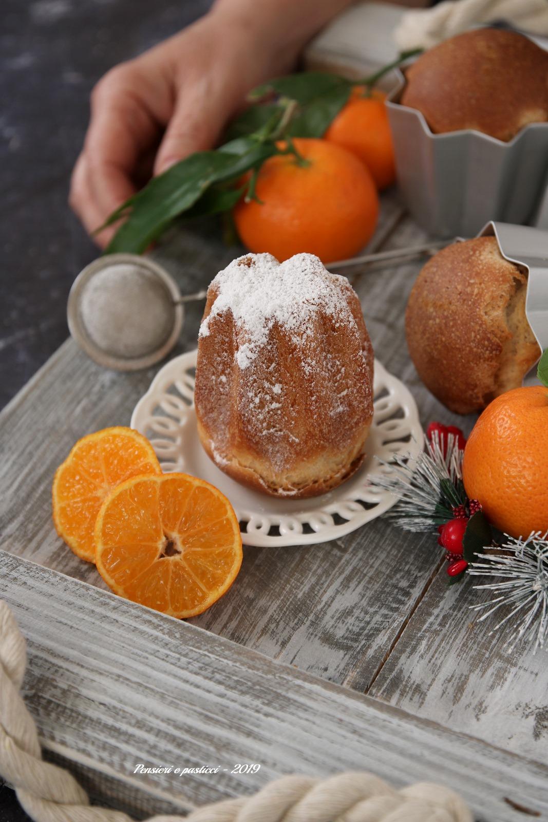 Pandorini di panbrioche al mandarino