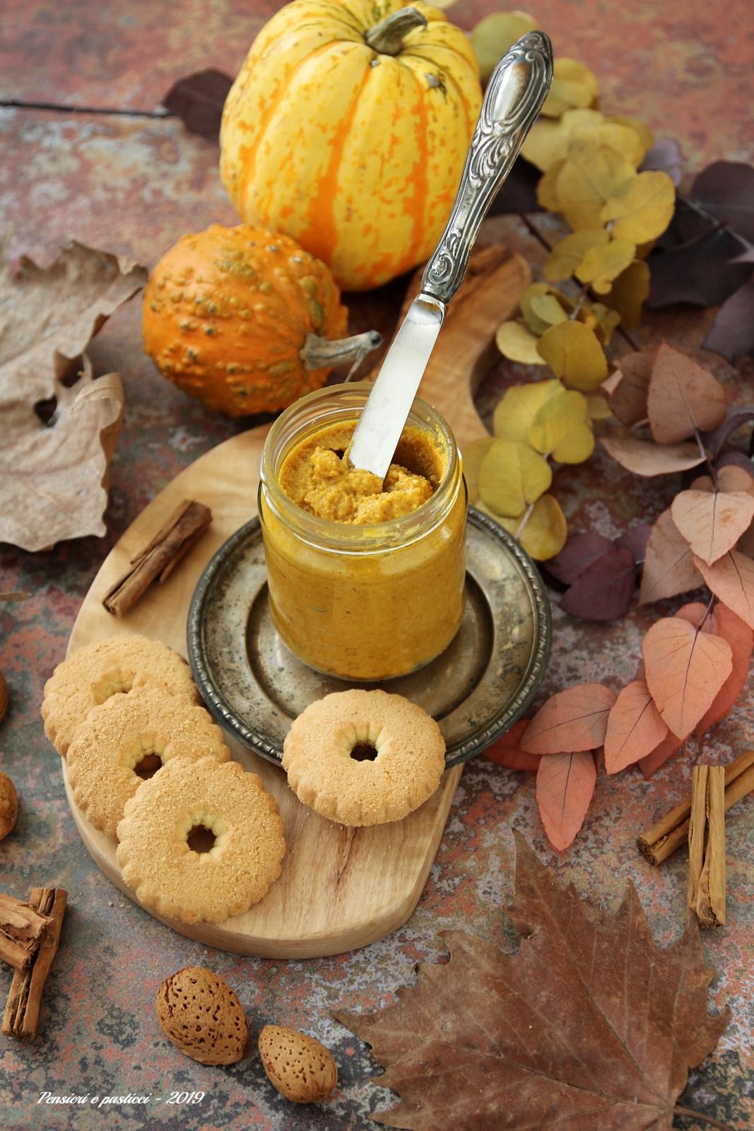 Pumpkin butter - burro di zucca