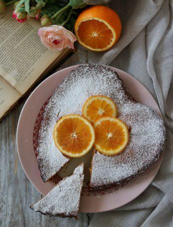 Torte alle arance e cioccolato bianco