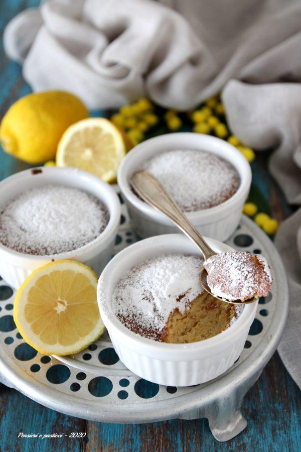 budino al limone dell'Artusi