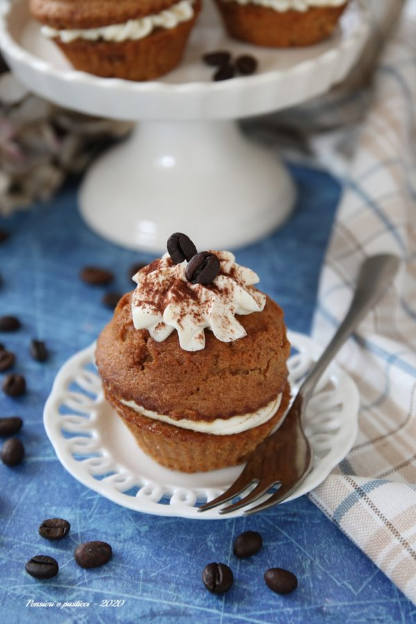cupcakes tiramisù per la festa del papà