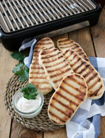 Flat bread alla griglia