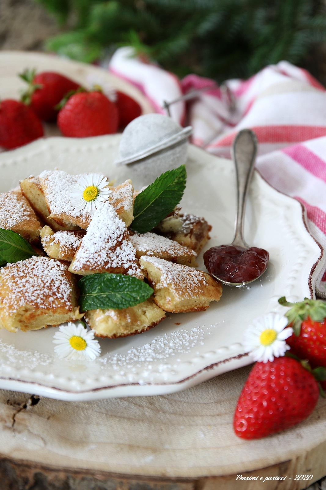 Kaiserschmarren dolce tirolese