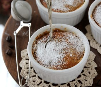 budino al caffè e mandorle