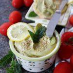 Hummus di fave profumato alla menta